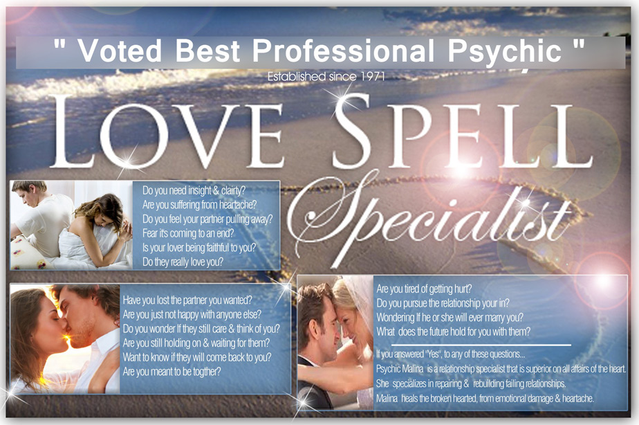 voted best professional psychic